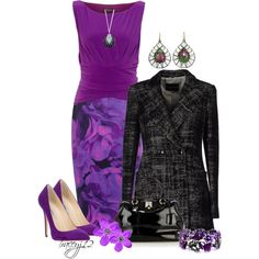 """""""Purple"""" by traceyj12 on Polyvore"""