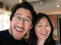 Mark and his mom <3