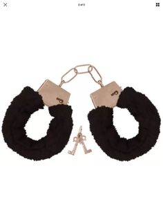 Black Fluffy Hand Cuffs Hen Stag Night Bedroom Games Etc See Our New Shop