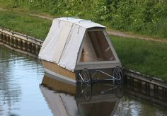 bicycle trailer canal boat