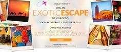 Enter to Win an Exotic Escape to Morocco!