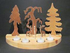 Nordic Paesaggio di Natale con le renne 4