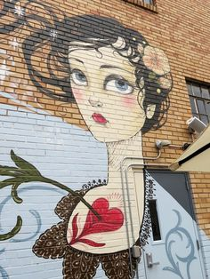 'Women with a contemplative look, birds and flowers' - Denver, CO - Photo: Outspoken1