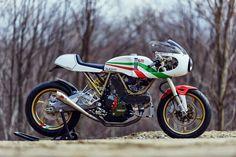 RocketGarage Cafe Racer: Leggero Series Walt Siegel Motorcycle