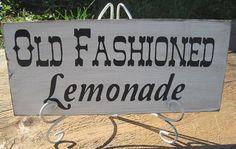 Rustic Wedding Custom Beverage Sign Iced Tea by dlightfuldesigns
