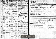 Treasure Chest Thursday: Jack Garber WWI Draft Registration Card #genealogy #familyhistory