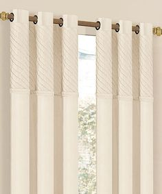 1000 images about cream colored grommet drapery panels on pinterest grommet curtains room - Benefits of light colored upholstery and curtains ...