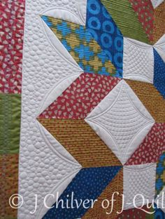 Carpenter's Star - quilted by J. Chilver of J-Quilts