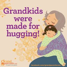 (((hugs))) from grandchildren are the best! Grands Parents, Grandchildren, Granddaughters, Just For You, Love You, My Love, Hugs, Grandmothers Love, Grandma Quotes