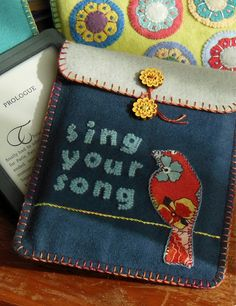 Sing Your Song -- wool tech cover pattern by Black Mountain Needleworks