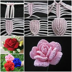 "There are many creative ways to make fabric flowers and this one is one of the most interesting: in the art of Macrame. Macrame is a form of textile-making using knotting rather than weaving or knitting. Its primary knots are the square knot and forms of ""hitching"". Nowadays this technique is widely used in fashion projects, such as making …"