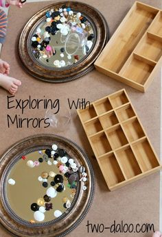 Kids Exploring with Mirrors