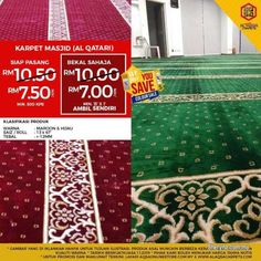 Other for sale, in Klang, Selangor, Malaysia. Best Quality Masjid Carpet - Get huge savings & Enjoy Have Provided Mosque Rugs Wit