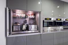 Diseño de Interiores & Arquitectura: Soluciones de Almacenamiento para Ocultar y Mantener en la Cocina