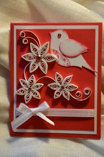 Quilling Ideas: Gift card holders