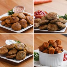 Healthy Veggie Nuggets 4 Ways by Tasty