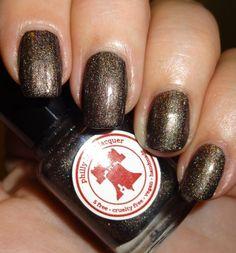 Philly Loves Lacquer - SBP PhLL-132 Dark Brown #nailart - bellashoot.com & bellashoot iPhone & iPad app