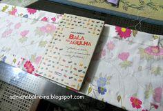 Capas de livros - em tecido