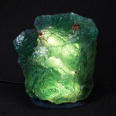 Crystal+Mineral+Healing   Natural Fluorite Energy Light Healing Crystal Mineral Specimen Lamp ...