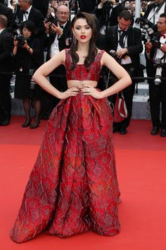 Kristina Bazan au festival de Cannes 2016