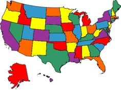 Make maps of where you've been. States I've visited (all of them!): hope to get my daughter to all of them too!