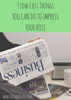 Things You Can Do To Impress Your Boss #career #success