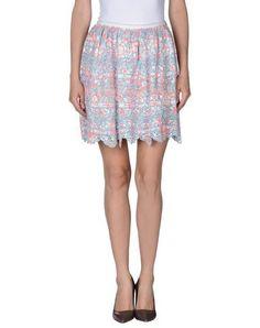 MANOUSH Women's Mini skirt Sky blue 2 US