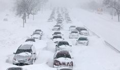Lake Shore Drive Chicago ILL. February 2011. 21 inches of snow. They are hoping this will not happen this year again.