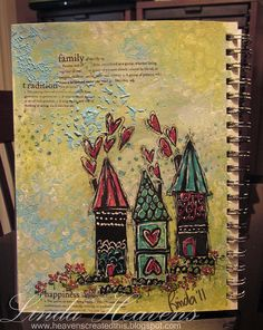 art journal houses | Flickr - Photo Sharing!