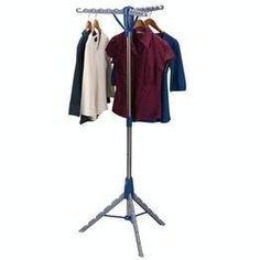 Household Essentials Collapsible Indoor Tripod Clothes Dryer, 2 Clothes Dryers Household Essentials http://www.amazon.com/dp/B00N56EWF0/ref=cm_sw_r_pi_dp_qSveub1TJNGGK