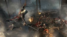 Download Free Assassins Creed 4 The War on Ship Game Wallpapers HD