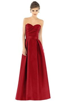 Alfred Sung D539 Bridesmaid Dress | Weddington Way