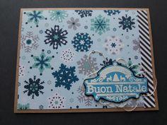 Scrapbooking Christmas card  card natalizia scrapbooking Biglietto auguri natale