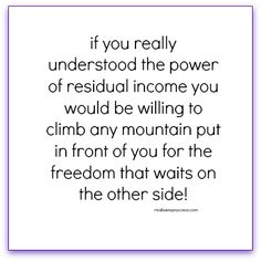 MLM, Direct Sales, Network Marketing #realsavvy #freedom