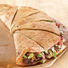 Large Round Stoneware  Family-Style Taco - The Pampered Chef®