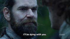 Outlander tv season 2 death starz