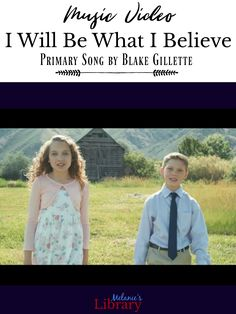 "I Will Be What I Believe music video. A Primary song that was written by Blake Gillette. Lyrics include ""I'll have Faith like Brother Joseph, and the Strength of the Pioneers, I'll be Brave like the Stripling Warriors and Like Nephi Persevere. Lds Songs, Lds Primary Songs, Lds Music, Primary Program, Primary Singing Time, Primary Lessons, Primary Music, Songs To Sing, Church Songs"