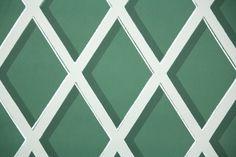1950s Geometric Vintage Wallpaper