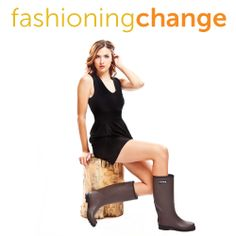 """Fashioning Change (website/company) The site (free registration required) offers """"stylish eco-friendly and ethical alternatives to name brands."""" Answer a few questions about preferences and causes you support and get suggestions for clothes & accessories."""