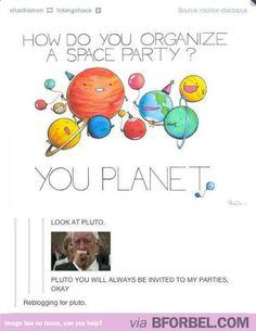 Reblogging for Wilfred Mott, yo!!!!!!!!!! Oh..... And Pluto. Wilf loves Pluto. So do I!