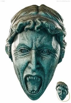 Downloadable Weeping Angel Mask <--For E's Halloween costume? <----- For terrifying my children??? Yes!