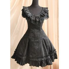 gothic lolita | Tumblr ❤ liked on Polyvore featuring dresses, lolita and gothic lolita