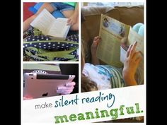 how to make silent reading more meaningful | literacy | teachmama.com
