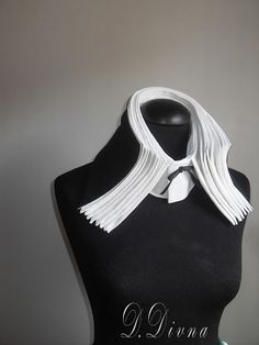 blog DD: The accordion collar! Absolutely fun and stunning TR technique !