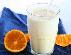 Healthy Vegan Orange Julius by colourfulpalate: 63 calories! #Beverage #Healthy #Orange_Julius