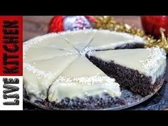 Greek Recipes, Kitchen Living, Easy Desserts, Recipies, Cheesecake, Pudding, Sweets, Cookies, Youtube