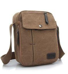 New Fashion Men Travel Bag Quality Canvas Men Messenger Bag Multi Function Mini Size Style Bags