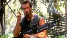 Arnold Schwarzenegger might be returning to his character from 'Predator'. This could be in reference to 'Predator: Hunting Grounds'. Predator Games, Predator Hunting, Predator Movie, Best Sci Fi Movie, Badass Movie, Sci Fi Movies, Phil Heath, Arnold Schwarzenegger Muscle