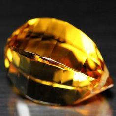 18.07 CT AAA! FANTASTIC! GOLDEN YELLOW BRAZIL CITRINE FANCY CUT ( DRILLED ) Gemstones For Sale, Golden Yellow, Drill, Brazil, Fancy, Hole Punch, Drills, Drill Press