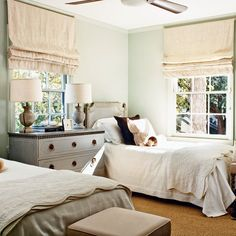 love everything in this room especially relaxed roman linen shades